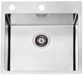 Alveus Einbauspüle Küchenspüle Edelstahl Spüle 515x525 mm Becken Pure30 *1103609