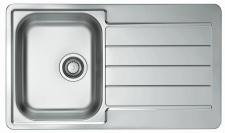 Alveus Einbauspüle Küchenspüle 860x500 mm Spüle Leinen-Struktur Becken *1065579