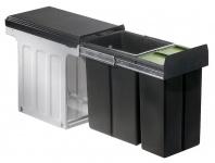 Wesco Profiline Bio Double 30 DT 1 x 10, 1 x 20 L Bio Müll-/Abfalleimer *515639