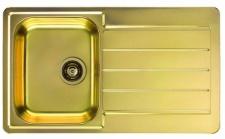 Alveus Küchenspüle Einbauspüle 860x500 mm Spülbecken LINE 20 Spüle Gold *1068988