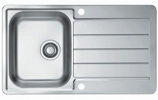 Alveus Edelstahl Einbau Küchenspüle 860x500 mm Abwasch Spülbecken *Line-max-20