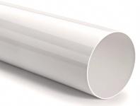 Rundrohr Ø 150 mm ohne Muffe Lüftungsrohr 100 cm Abluftrohr PVC Rohr *527953