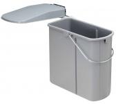 Wesco Öko 1 Schrank Abfall-/Mülleimer Küche 19 Liter Ausschwenkautomatik *514724