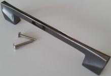 Schrankgriff Möbelgriffe BA 128 mm Schwarz Kommodengriff Küchengriff Griff *1382
