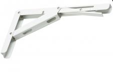 1 Klappkonsole max 150 Kg Tischplatten Kippbeschlag Weiss Klapptisch *819-WH