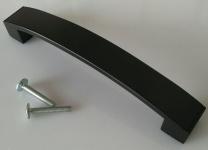 Möbelgriff Schrankgriff BA 128 mm Küchengriff Schwarz matt Schubladengriff *4015