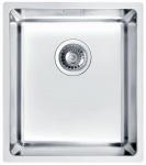 Alveus Küchen Unterbauspüle Edelstahl 380 x 440 x 195 mm Unterbaubecken *1102696