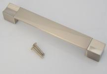 Küchengriff Möbelgriff BA 160 mm Kommoden Schrankgriff Edelstahl Optik *1468-07