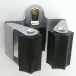 Geräte-/Werkzeughalter Klemmfix Besenhalter Stielhalter Wandhalter *523