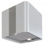 Umlufthaube Küchen Abzugshaube Inselhaube VILLA Weiss 600 m³/h LED Licht *560325