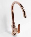 Alveus Küchenarmatur Wasserhahn Mischbatterie Kupfer Einhandmischer *1095005