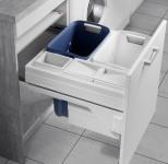 Hailo Laundry Carrier Slide Wäschekorb 80 L Schrankauszug Selbsteinzug *551064