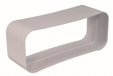 Dunstabzug Abluft Flachkanal 222 x 89 mm Verbinder Muffe optimAiro *50551