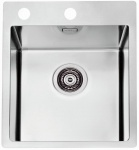 Alveus Küchenspüle Einbauspüle 405x525 mm Edelstahl Spülbecken Pure10 *1103607