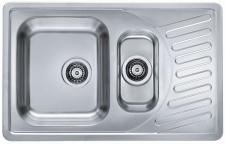 Alveus Küchenspüle Einbauspüle 810x510 mm Edelstahl Spüle Elegant 110 *1009247