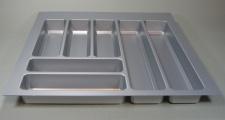 Besteckeinsatz Küchen Schubladeneinsatz Teck 60 cm Besteckkasten kürzbar *44574