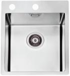 Alveus Pure 10 Edelstahl Küchen Einbauspüle 340 x 400 mm Abwaschbecken *1103607