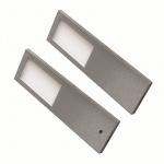 2-er LED Edelstahl Küchen Unterbauleuchte TORRO 2 x 5, 2 W Warmweiss *556410.LP