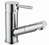 Waschbeckenarmatur Wasserhahn SIGNA ausziehbare Handbrause Einhandmischer *8913