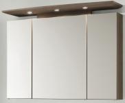 LED Spiegelschrank 100 cm Badspiegel 3000 K Schalter Stecker IP21 *SPS-Bingo-100