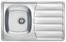 Alveus Abwasch Spülbecken 790 x 500 mm Edelstahl Einbau Küchenspüle *Zoom-20