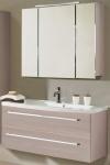 Waschtisch 112 cm SoftClose Waschplatz Becken LED Spiegelschrank *2013-Jol-2T