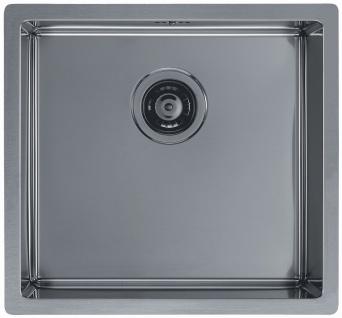 Alveus Einbau Küchenspüle 450 x 450 mm Abwaschbecken Anthrazit, Gold *Mon-Qua-30