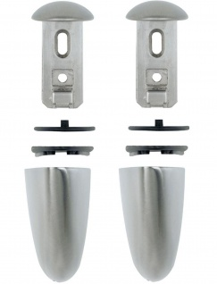 2 Stück Regalbodenträger max 18 Kg Wandhalter 3-22 mm Glasbodenhalter *Jumbo