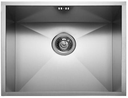 Küchen Einbau Unterbauspüle flächenbündig 50 x 40cm Spülbecken Spüle *Tetra-5040