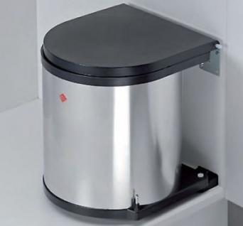 Wesco Edelstahl Bad Kosmetik-/Abfall-/Mülleimer Küche 11, 13, 15 ...
