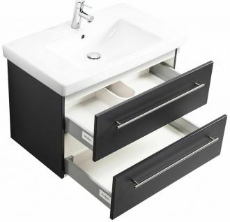 Waschtisch mit Unterschrank Villeroy & Boch Keramikbecken Waschplatz *SUB80