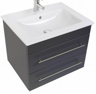 Waschtisch 65 cm Unterschrank Venticello Villeroy & Boch Keramikbecken *VEN65 - Vorschau 3