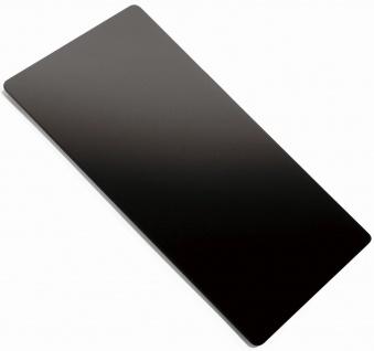 Alveus Glas Küchen Tranchier Schneidbrett 415 x 215 x 4 mm Ablage Auflage Spüle