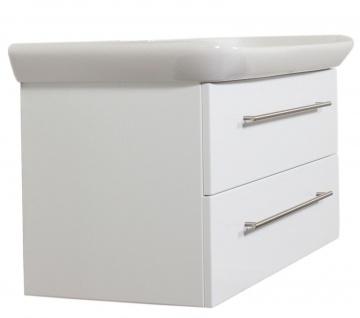 Waschplatz 100 cm Waschtisch Keramag Becken SoftClose Auszug Aufgebaut *MyDay100