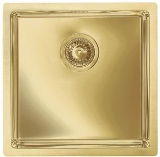 Alveus Einbau Küchenspüle 450 x 450 mm Abwaschbecken Anthrazit, Gold *Mon-Qua-30 - Vorschau 2