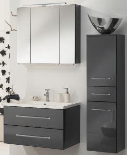Badmöbelset RAMERO Badezimmer Möbel Spiegelschrank Waschtisch Badset *Ram-Ant