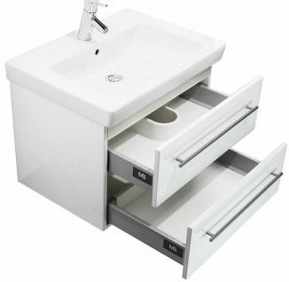 Gäste Bad Waschplatz 60 cm Waschtisch Villeroy & Boch Becken Schubladen *SUB60