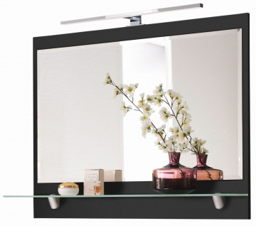 Badspiegel 90 x 68 x 22 cm LED Wandspiegel 230 Volt 8 Watt 550-600 Lumen *5672