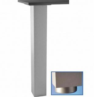 Tischbein Metall 72-110 cm Stützfuß 10 x10 cm Möbelbein max 250 Kg Stütze *Jumbo