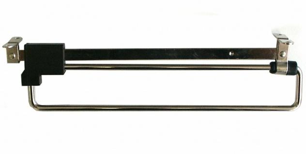 Kleiderstange ausziehbar 25-50 cm Garderobenstange Teleskopstange Schrank *531