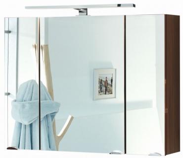 LED Spiegelschrank 90 cm Badezimmer Spiegel Badspiegel 230 Volt 8 Watt *5674