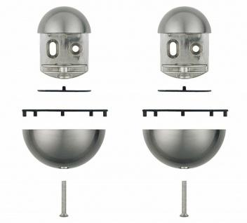 2 Stück Regalbodenhalter Regalbodenträger 18 kg Bodenhalter 3 bis 30 mm *Giotto