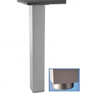 Tisch Stützfuss 72, 82, 87, 110 cm Tischbein 10 x10 cm Tragkraft 250 Kg *Jumbo