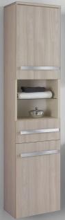 Badezimmer Seiten Hochschrank 35 x 160 x 32 cm Badschrank Möbel *HS-Harm-Pin/Ant