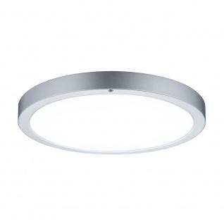 Paulmann WallCeiling Smooth LED-Panel 360mm 13W 230V Chrom matt/Weiß Metall/Kunststoff incl. Fernbedienung