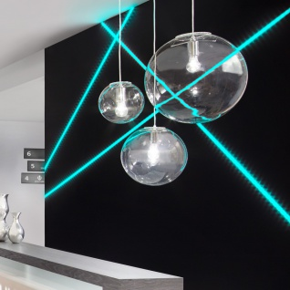 s.LUCE Mylight Orb XL Pendelleuchte Ø 40cm Klar Pendellampe Glaslampe - Vorschau 1