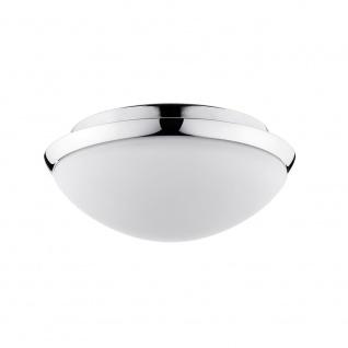 Paulmann Deckenleuchte Polar HF-Sensor IP44 LED 11W 250mm Chrom Opal Glas 70465