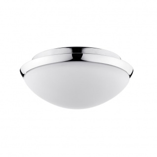 Paulmann WallCeiling Polar HF-Sensor IP44 LED 11W 250mm Chrom/Opal 230V Metall/Glas
