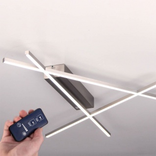 Licht-Trend Tramos LED Deckenleuchte 24W LED dimmbar mit Fernbedienung Deckenlampe