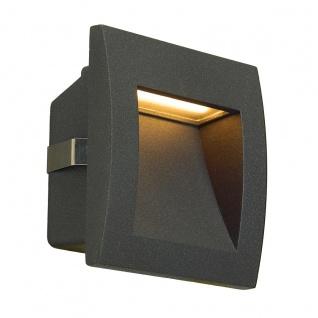 SLV Downunder OUT LED S Wandeinbauleuchte anthrazit 233605